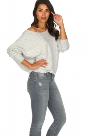 American Vintage |  Basic sweater Damsville | grey  | Picture 4