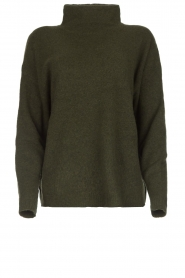American Vintage |  Turtleneck sweater Damsville | green  | Picture 1