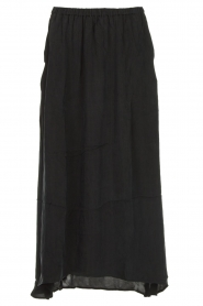 American Vintage |  Midi skirt Nonogarden | carbon black  | Picture 1