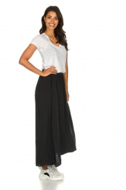 American Vintage |  Midi skirt Nonogarden | carbon black  | Picture 4