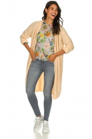 American Vintage |  Basic cardigan Woxilen | beige  | Picture 3