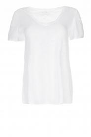American Vintage |  Basic T-shirt Kobibay | white  | Picture 1