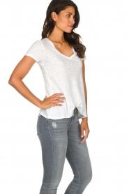 American Vintage |  Basic T-shirt Kobibay | white  | Picture 4