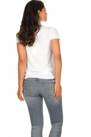 American Vintage |  Basic T-shirt Kobibay | white  | Picture 5