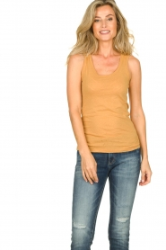 American Vintage | Tanktop Camipy | yellow  | Picture 2
