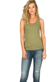 American Vintage | Tanktop Camipy | green  | Picture 2