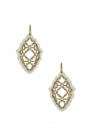 Miccy's |  Earrings Azizi - small | white  | Picture 1