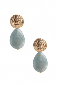 Miccy's |  Earrings Blue Gemstone Drops | blue  | Picture 1