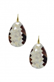Miccy's |  Earrings Mozaic Drop | natural  | Picture 1