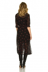 Freebird |  Dress with print Helen | black  | Picture 5