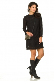 Freebird |  Lace dress Dena | black  | Picture 8