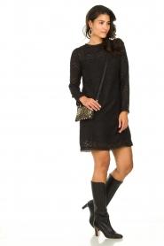 Freebird | Kanten jurk Dena | zwart   | Afbeelding 8