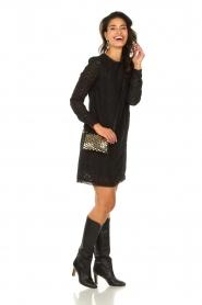Freebird | Kanten jurk Dena | zwart   | Afbeelding 3