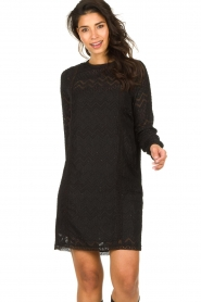 Freebird |  Lace dress Dena | black  | Picture 4