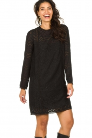 Freebird |  Lace dress Dena | black  | Picture 5
