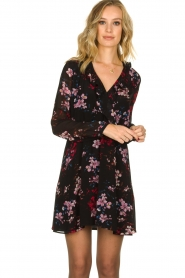Freebird |  Flower print dress Gianna | multi  | Picture 4