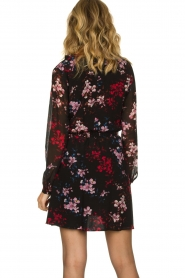 Freebird |  Flower print dress Gianna | multi  | Picture 6