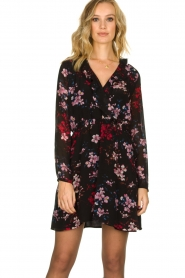 Freebird |  Flower print dress Gianna | multi  | Picture 2