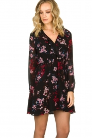Freebird |  Flower print dress Gianna | multi  | Picture 5