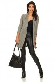 Freebird |  Long metallic blazer Emmy | metallic  | Picture 3