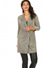 Freebird |  Long metallic blazer Emmy | metallic  | Picture 6