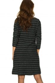 Freebird | Bouclé dress with lurex details Lizzy | black  | Picture 6