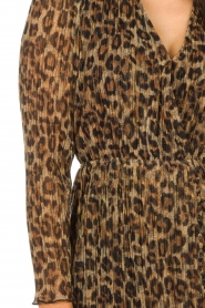 Freebird |  Dress with leopard print Evia | brown  | Picture 7