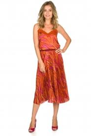 Dante 6 | Midi plissé skirt Eyo Animaux | multi  | Picture 2
