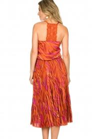 Dante 6 | Midi plissé skirt Eyo Animaux | multi  | Picture 6