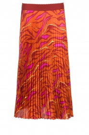 Dante 6 | Midi plissé skirt Eyo Animaux | multi  | Picture 1