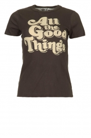 Chaser |  T-shirt with print Goodthings | black  | Picture 1