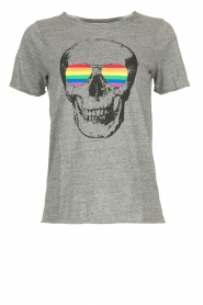 Chaser | T-shirt Rainbow | grey  | Picture 1