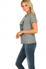 Chaser | T-shirt Rainbow | grey  | Picture 3