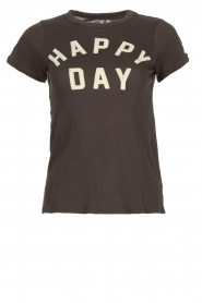 Chaser | T-shirt Happy Day | black  | Picture 1