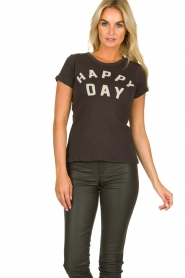 Chaser | T-shirt Happy Day | black  | Picture 3