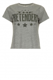 Chaser |  T-shirt with print Pretenders | grey  | Picture 1
