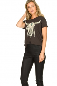 Chaser | T-shirt Skull | black  | Picture 4