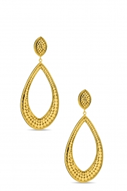 Close to Zen | 22K gold plated earrings Wings Of Love | gold  | Picture 1