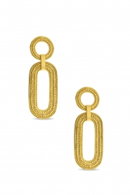 Close to Zen |  22k gold plated earrings Close To My Soul | gold  | Picture 1