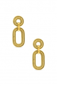 Close to Zen | 22K gold plated earrings Soul | gold  | Picture 1