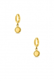 Close to Zen | 22K gold plated earrings Moon | gold  | Picture 1