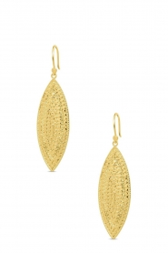 Close to Zen    22k gold plated earrings Moondancer   gold    Picture 1
