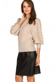 Dante 6 |  Woolen sweater Eloma | beige  | Picture 2