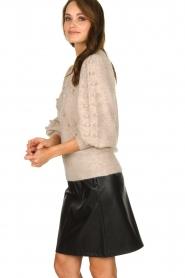 Dante 6 |  Woolen sweater Eloma | beige  | Picture 4