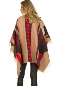 Dante 6 |  Print poncho with fringes Orade | multi  | Picture 4