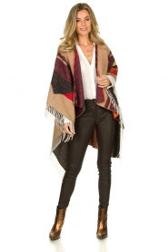 Dante 6 |  Print poncho with fringes Orade | multi  | Picture 3