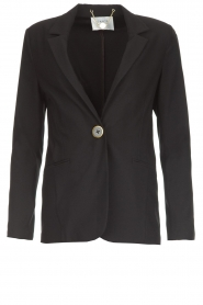 Dante 6 |  Stretch blazer Mounah | black  | Picture 1