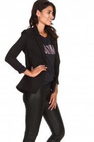 Dante 6 |  Stretch blazer Mounah | black  | Picture 4