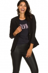 Dante 6 |  Stretch blazer Mounah | black  | Picture 2