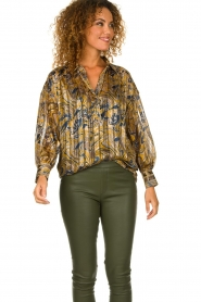 Dante 6 | Blouse with print Collyn | multi  | Picture 4